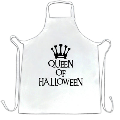Novelty Spooky Chef's Apron Queen Of Halloween Crown