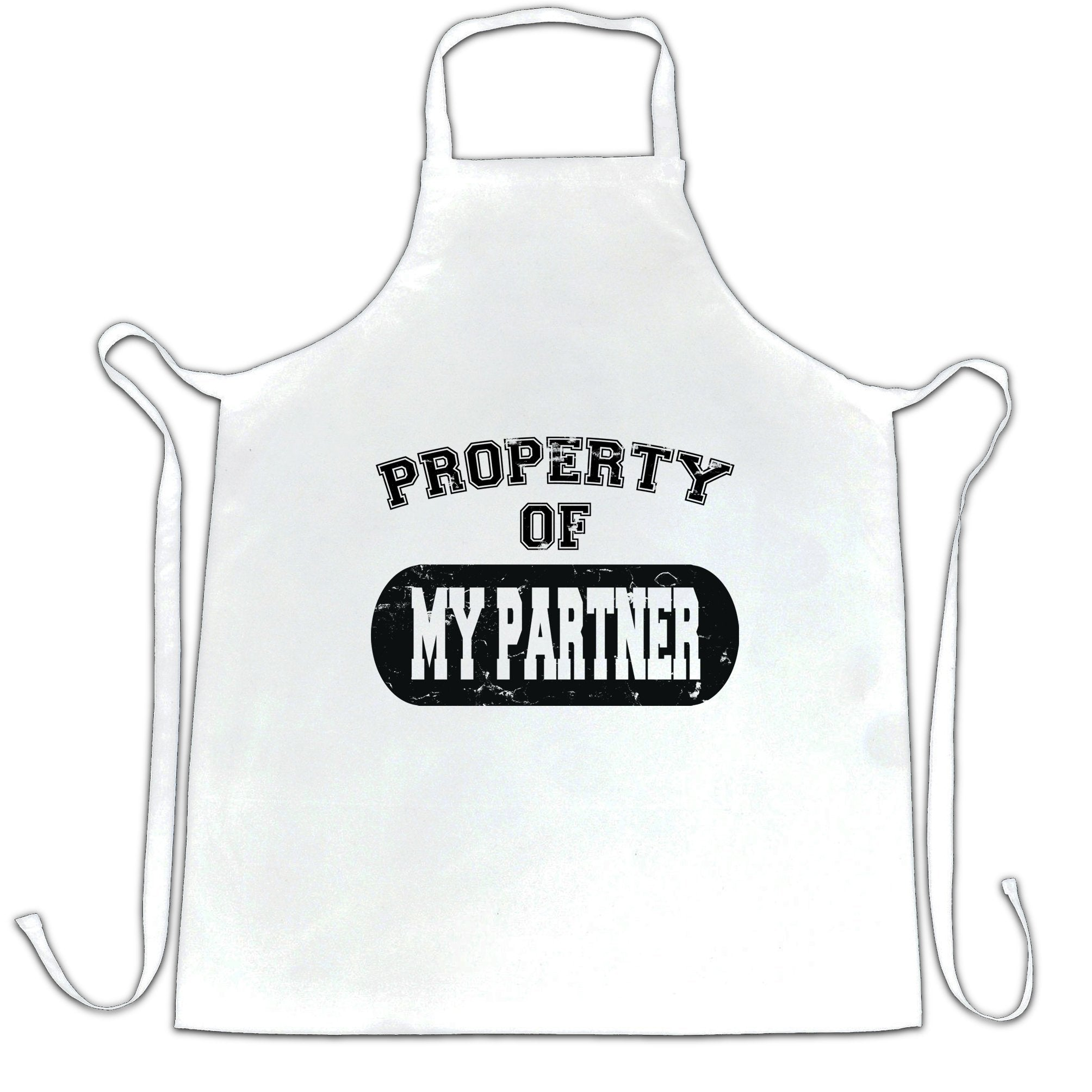 Valentine's Day Chef's Apron Property Of My Partner