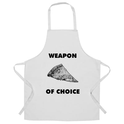 Novelty Food Chef's Apron Weapon of Choice Pizza Slice