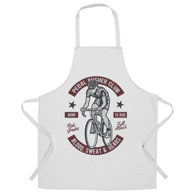 Cycling Chef's Apron Pedal Pushers Cyclist Biker Club