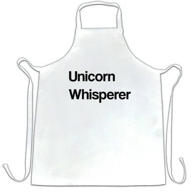 Novelty Mythical Chef's Apron Unicorn Whisperer