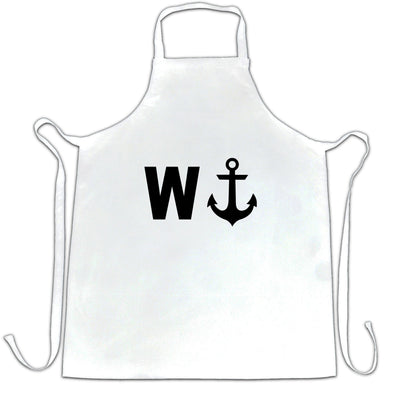 Rude Novelty Chef's Apron W And An Anchor