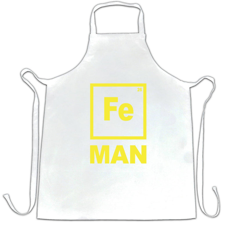Fe Man Science Apron