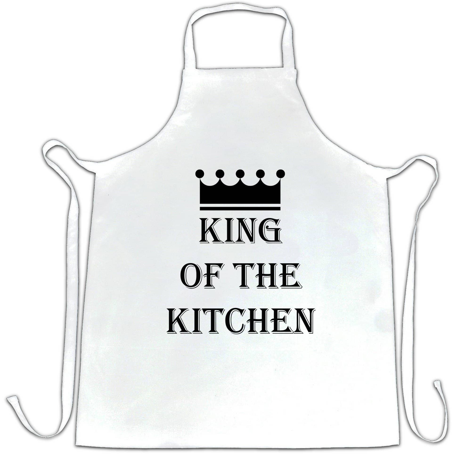 Chef's Cooking Chef's Apron King Of The Kitchen Slogan