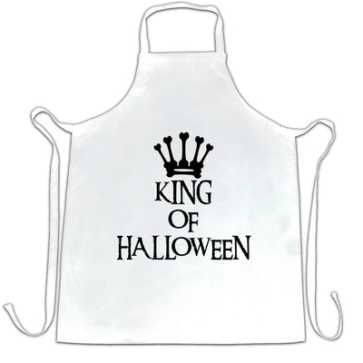 Novelty Spooky Chef's Apron King Of Halloween Crown