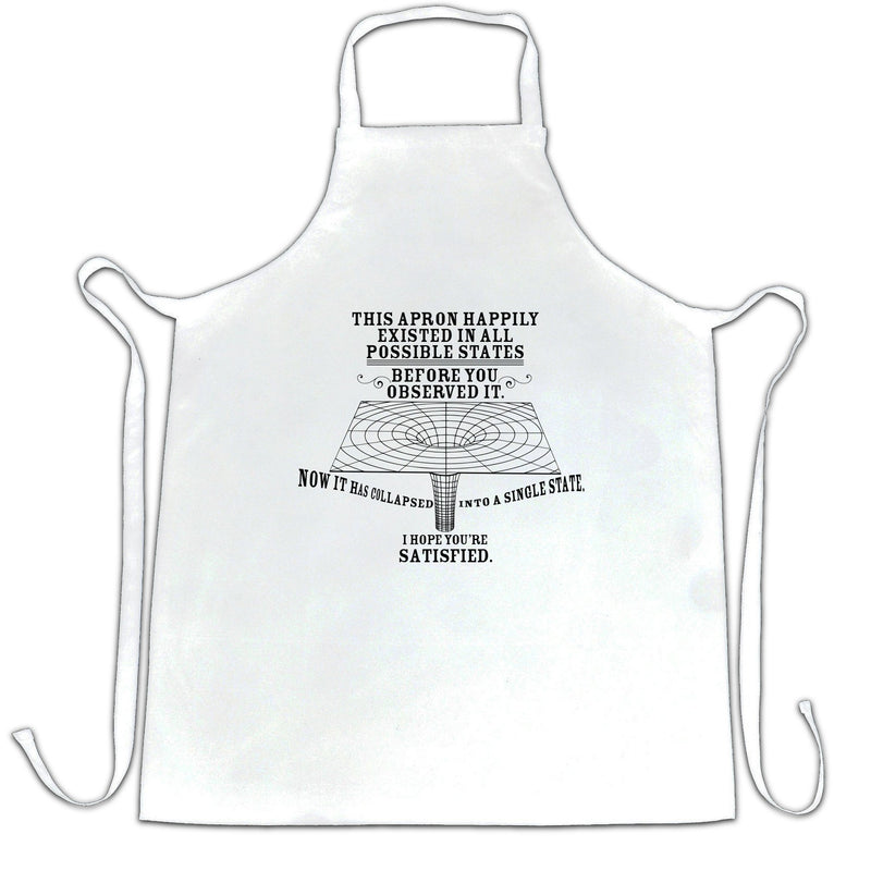 Physics Chefs Apron Quantum Observer All Possible States