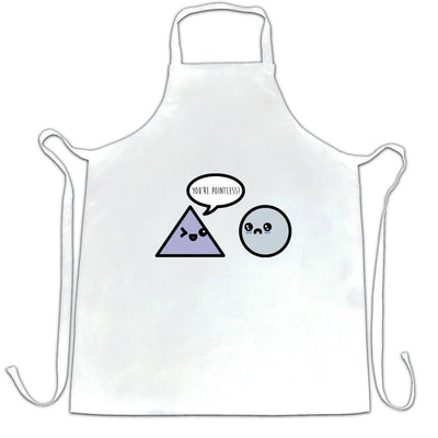 Novelty Math Chef's Apron You're Pointless Joke