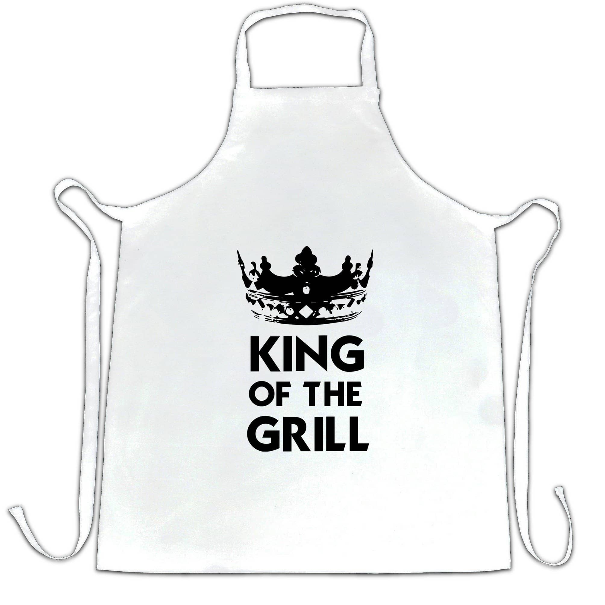 Novelty Cooking Chef's Apron King Of The Grill Slogan
