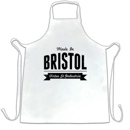 Hometown Pride Chefs Apron Made in Bristol Banner