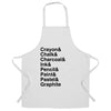 Utencils Chef's Apron The Art Supplies List