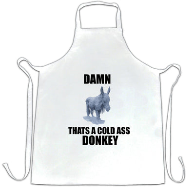 Music Parody Chef's Apron Damn, That's A Cold Ass Donkey