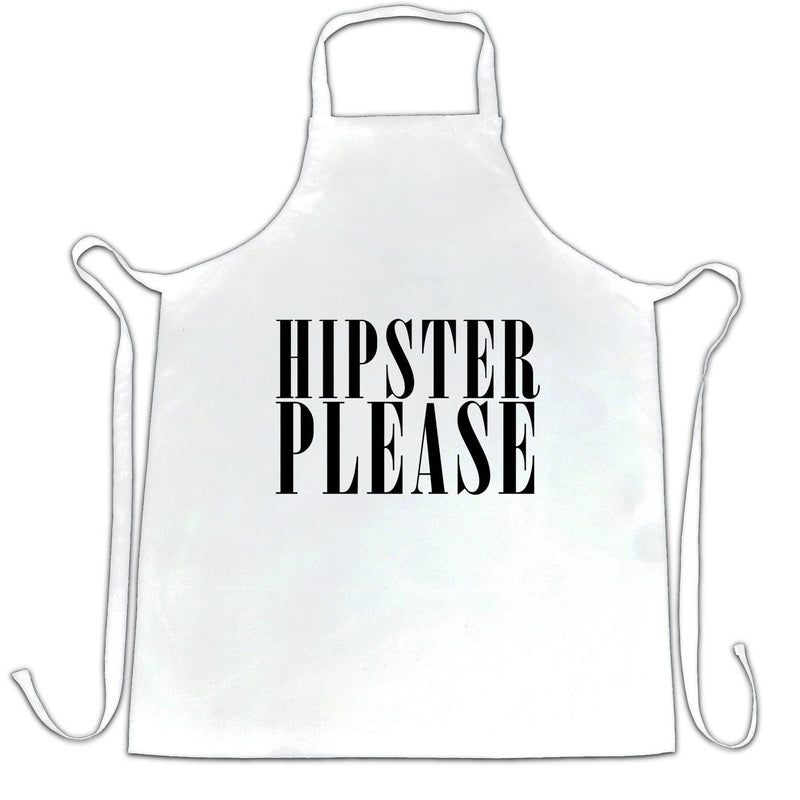 Effortless Chefs Apron Hipster Please Slogan