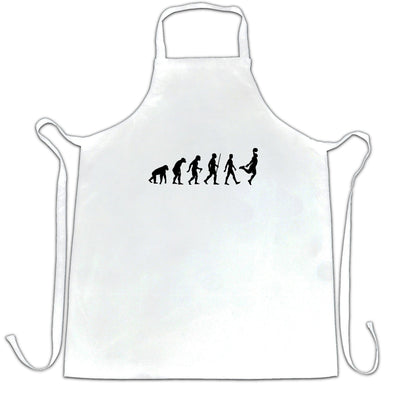 Sports Chef's Apron Evolution Of A Basketball Player