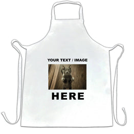 Custom Printed Chefs Apron with Your Text or Image