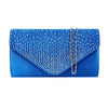 Diamonte Envelope Clutch Shoulder Bag Purse Womens Fashion Ladies Handbag