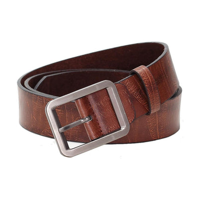 "Mens Vegan Vegetarian Friendly Faux Leather Belt (From 30"" to 46"")"