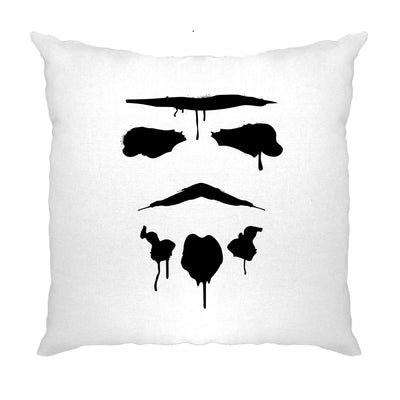Graffiti Trooper Rorschach Mask Cushion Cover
