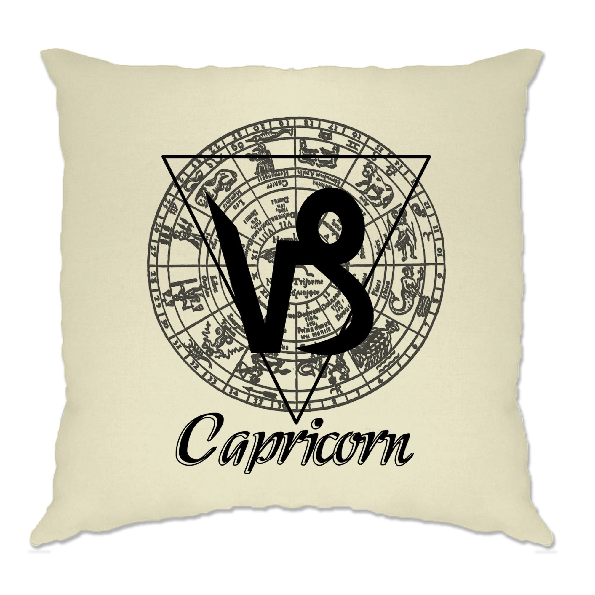 Horoscope Cushion Cover Capricorn Zodiac Star Sign Birthday