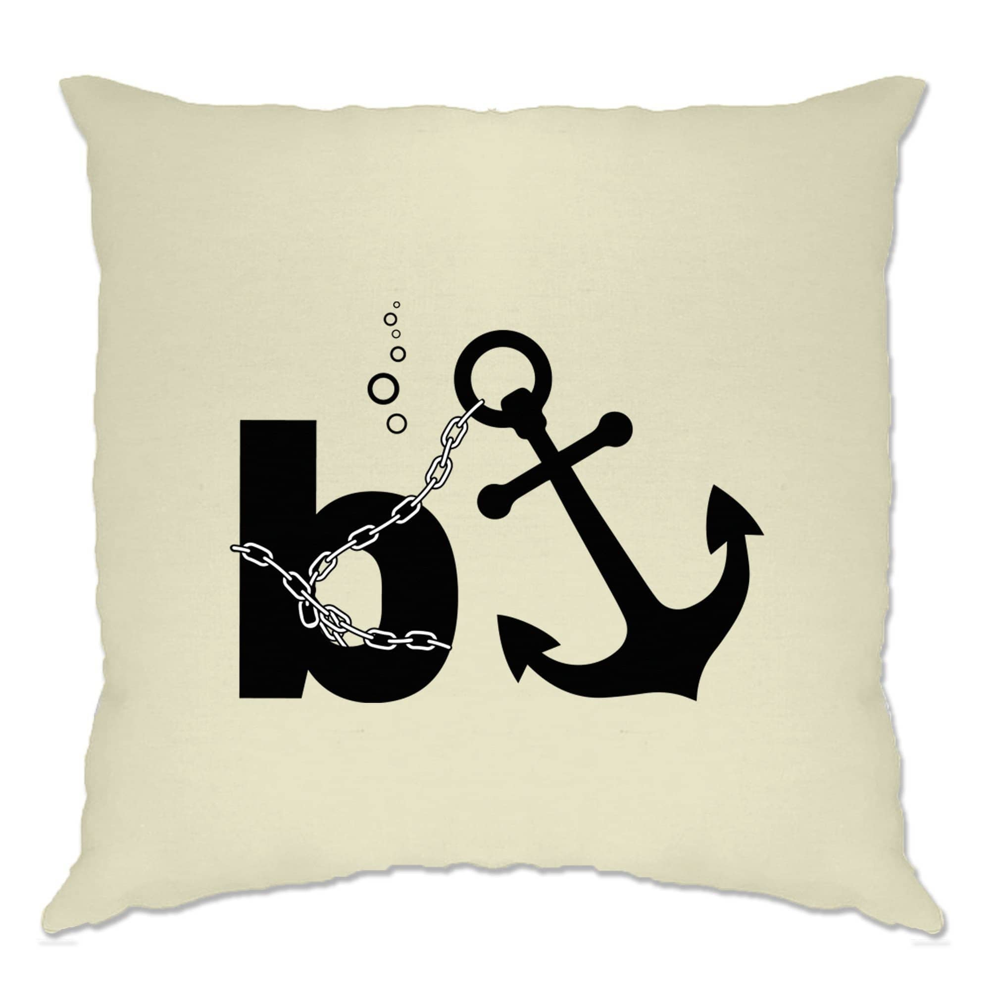 Capitalism Cushion Cover B Anchor Banker Joke