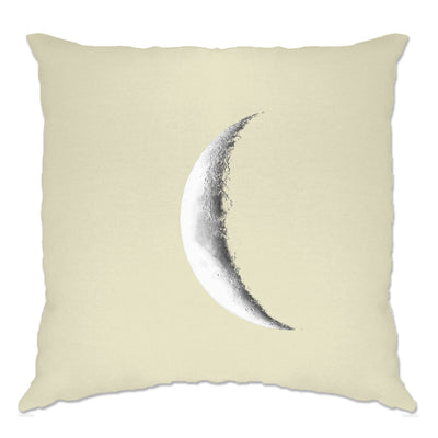 Space Cushion Cover Crescent Half Moon Astronomy