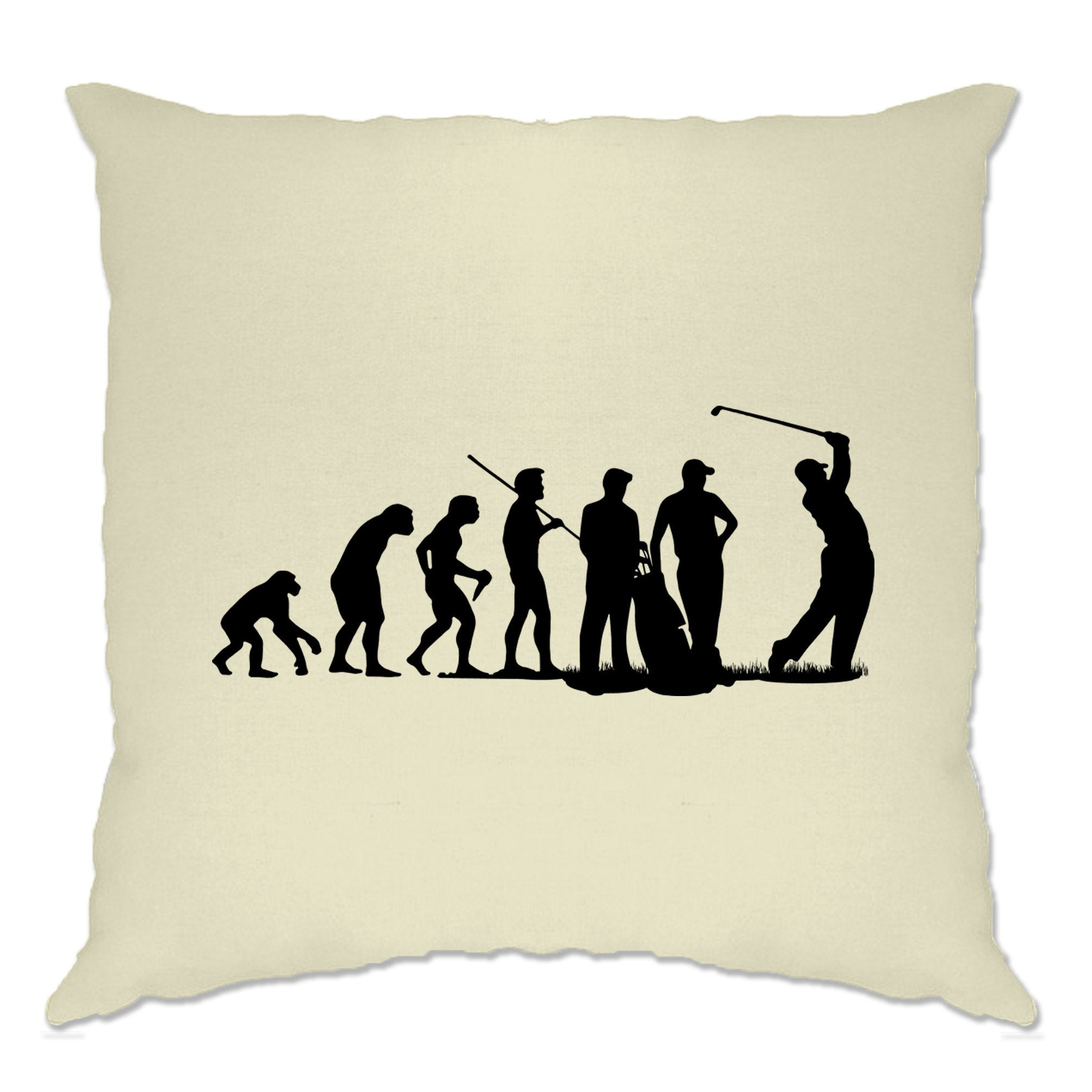 Sports Cushion Cover The Evolution Of A Golfer