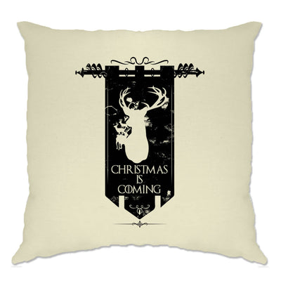 TV Parody Cushion Cover Winter Christmas Is Coming