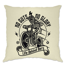Cycling Cushion Cover No Guts No Glory Mountain Biking Bike