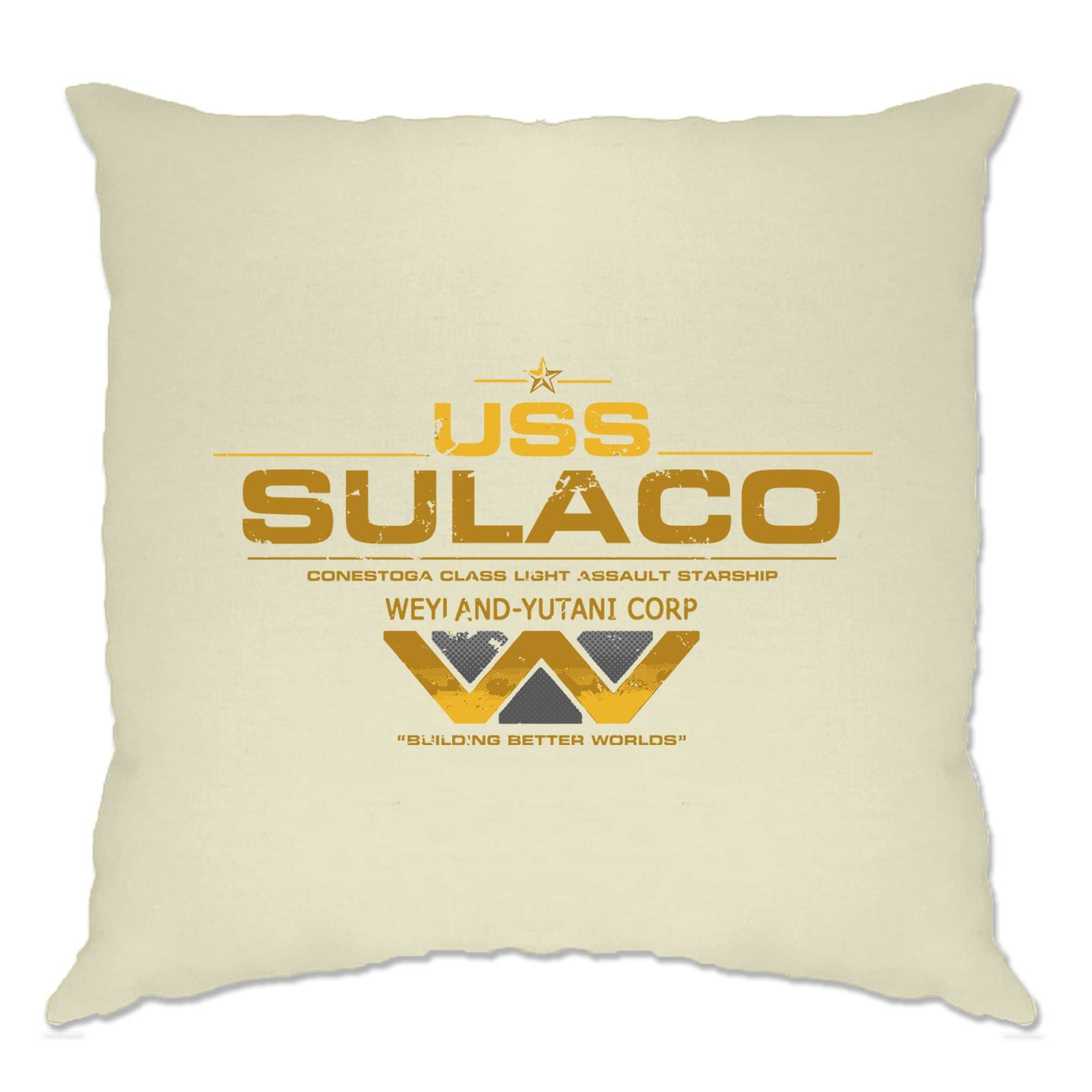 Alien Cushion Cover USS Sulaco Building Better Worlds