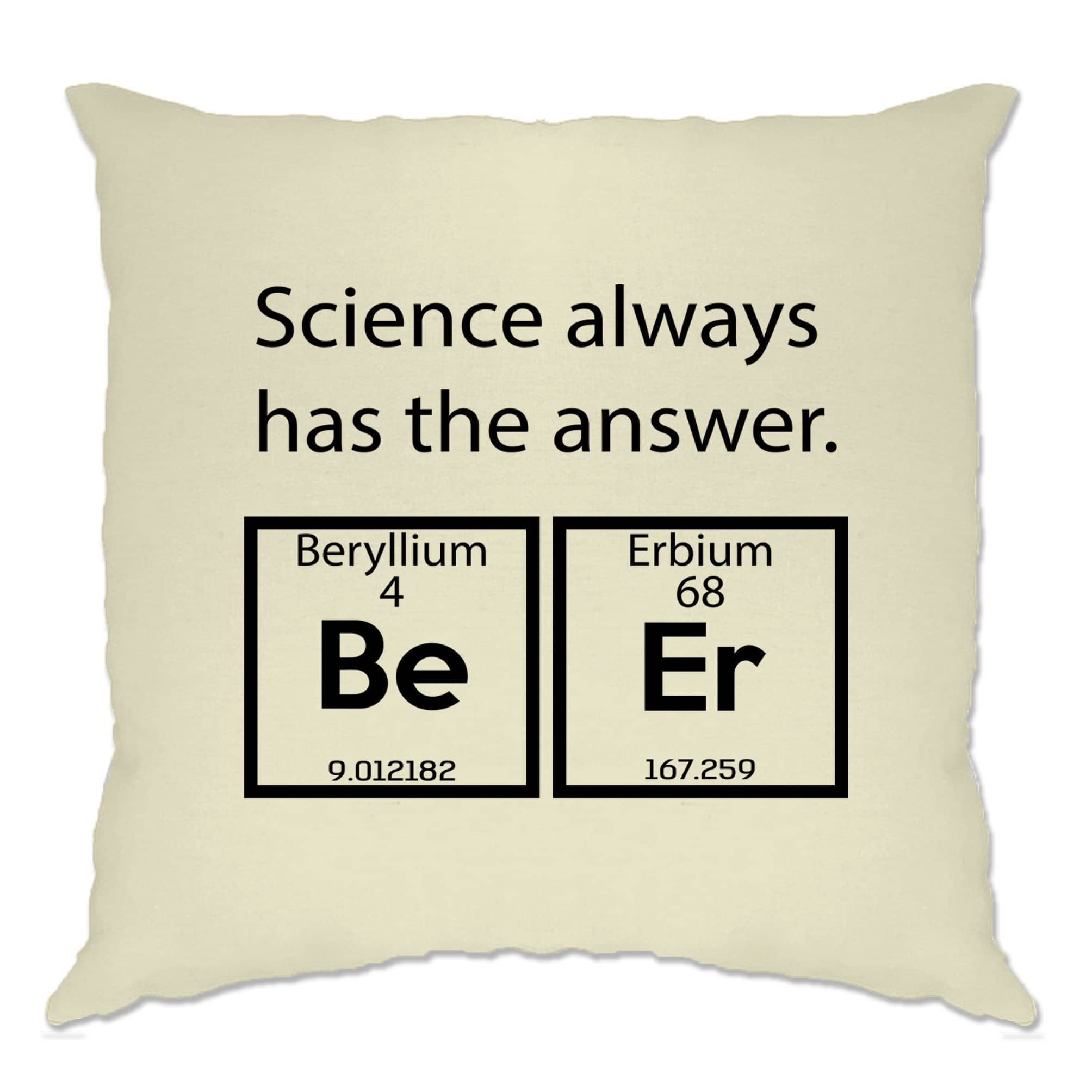 Drinking Cushion Cover Science Has The Answer Beer