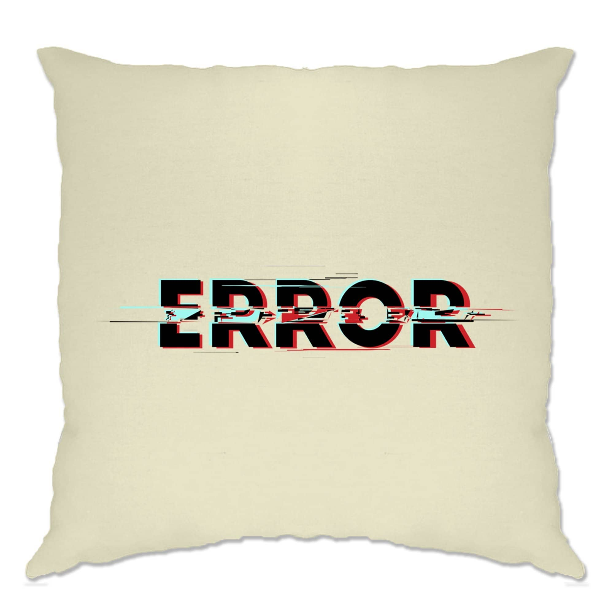 Computer Cushion Cover Glitched Error Message