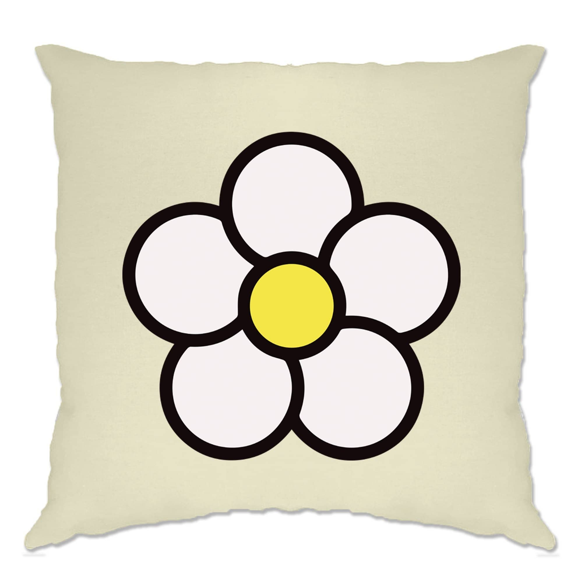 Cute Summer Cushion Cover Floral Single Daisy