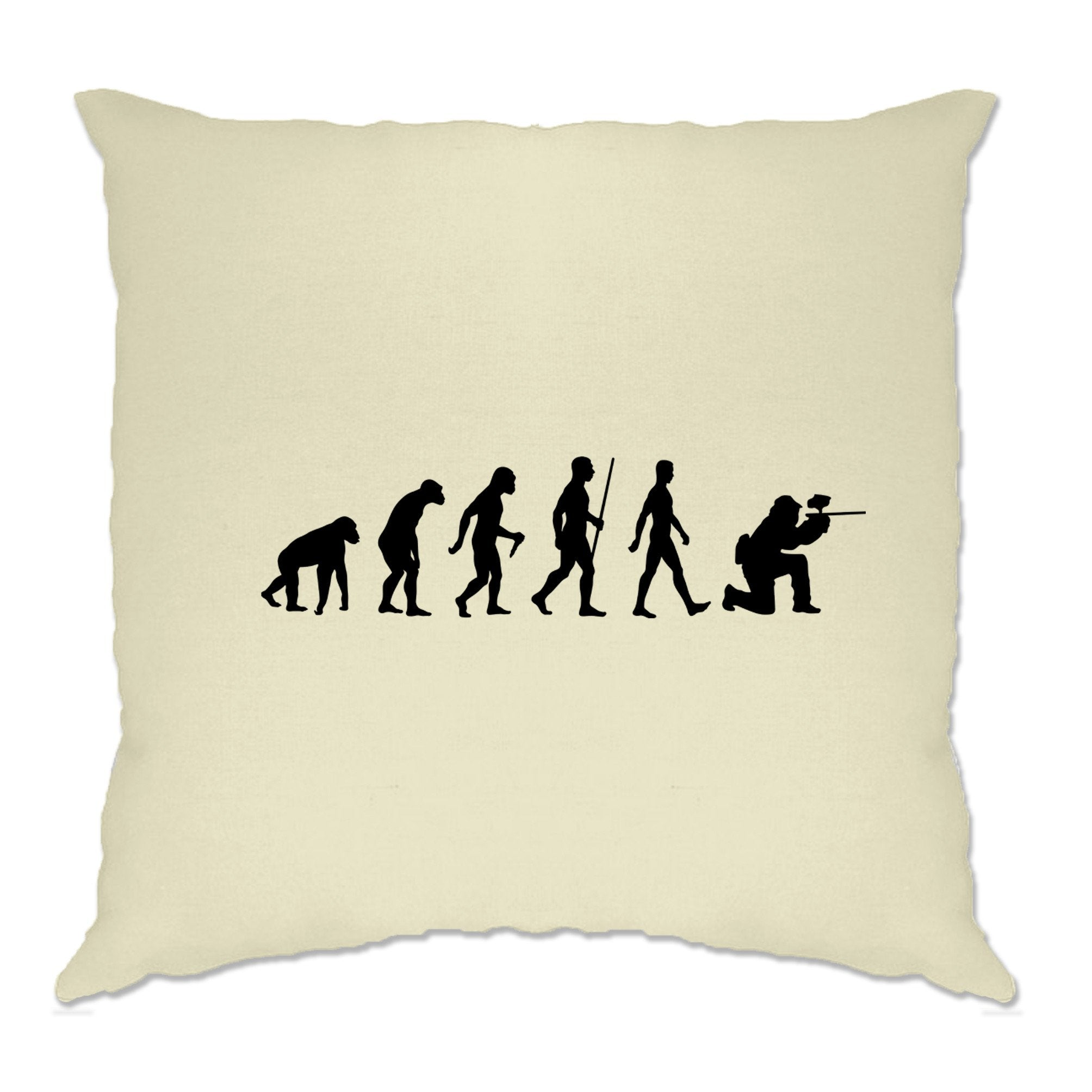 Sports Cushion Cover The Evolution Of A Paintballer