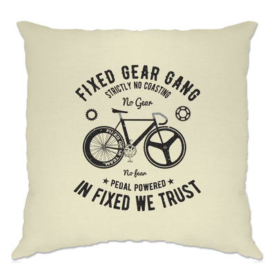 Cycling Cushion Cover Fixed Gear Gang Cyclist Biker