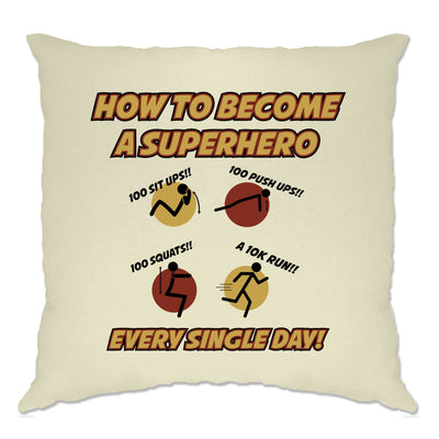 Novelty Anime Parody Cushion Cover How To Become A Superhero