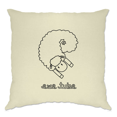 Internet Parody Cushion Cover Ewe Tube Sheep