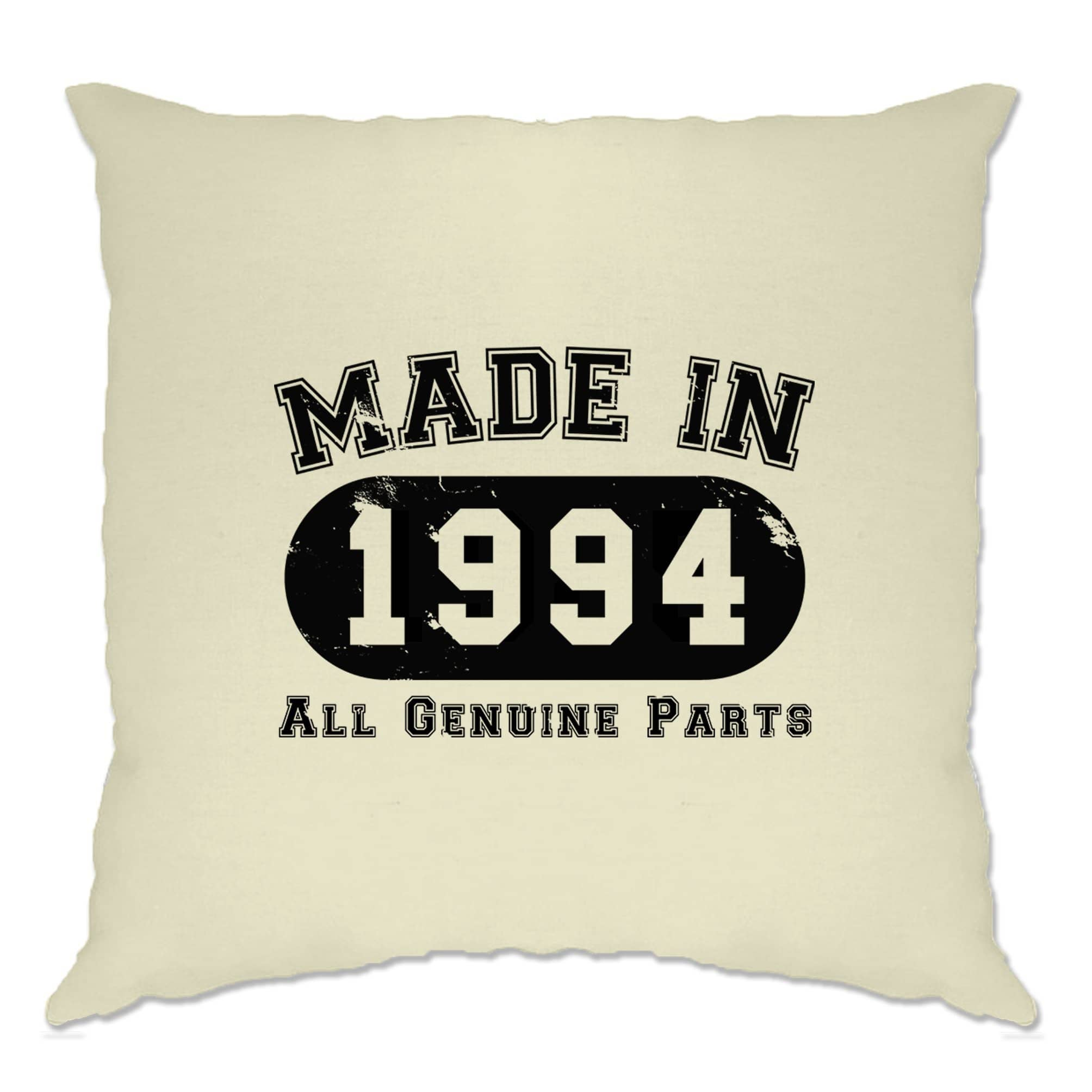 Birthday Cushion Cover Made in 1994 All Genuine Parts