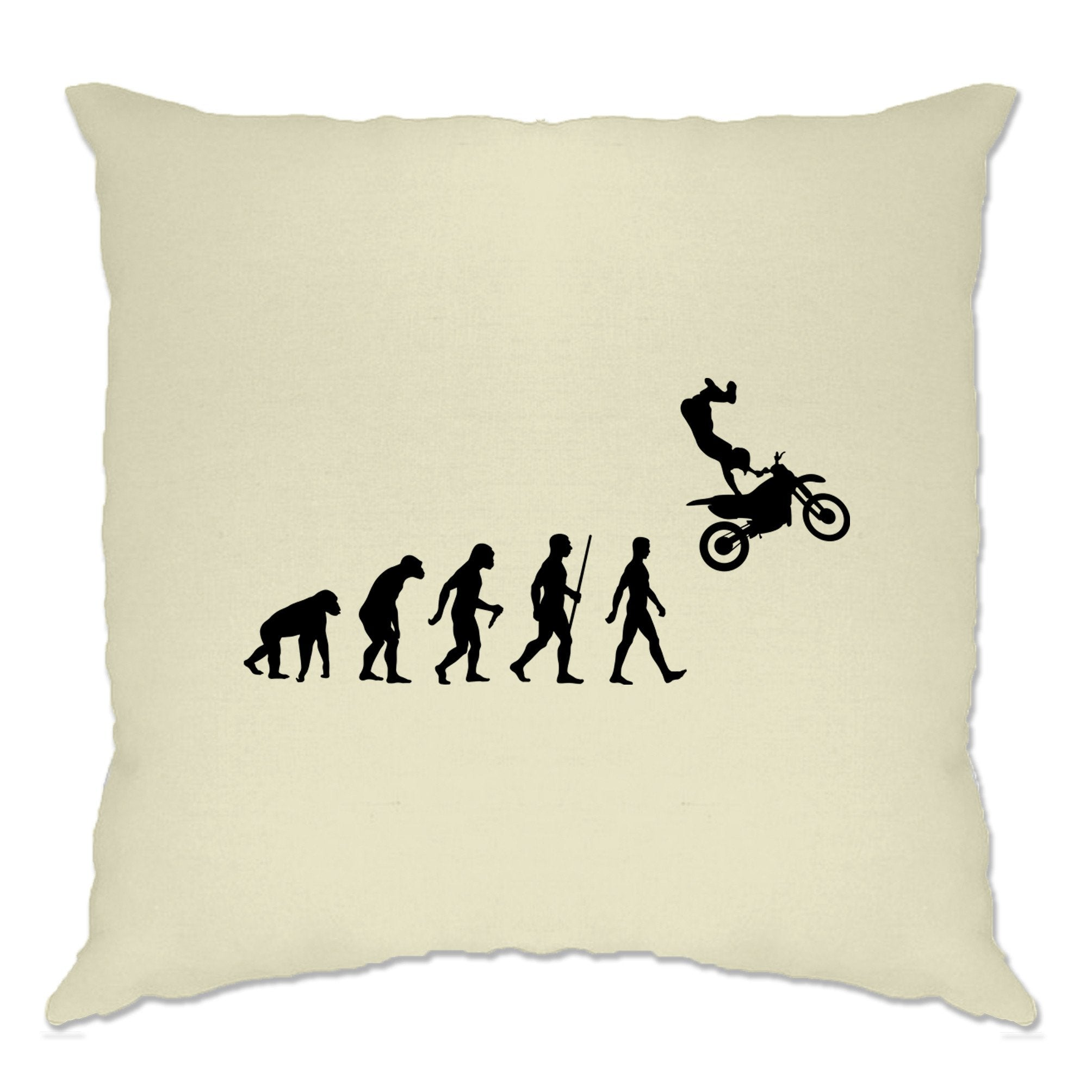 Sports Cushion Cover The Evolution Of Motocross Jumping