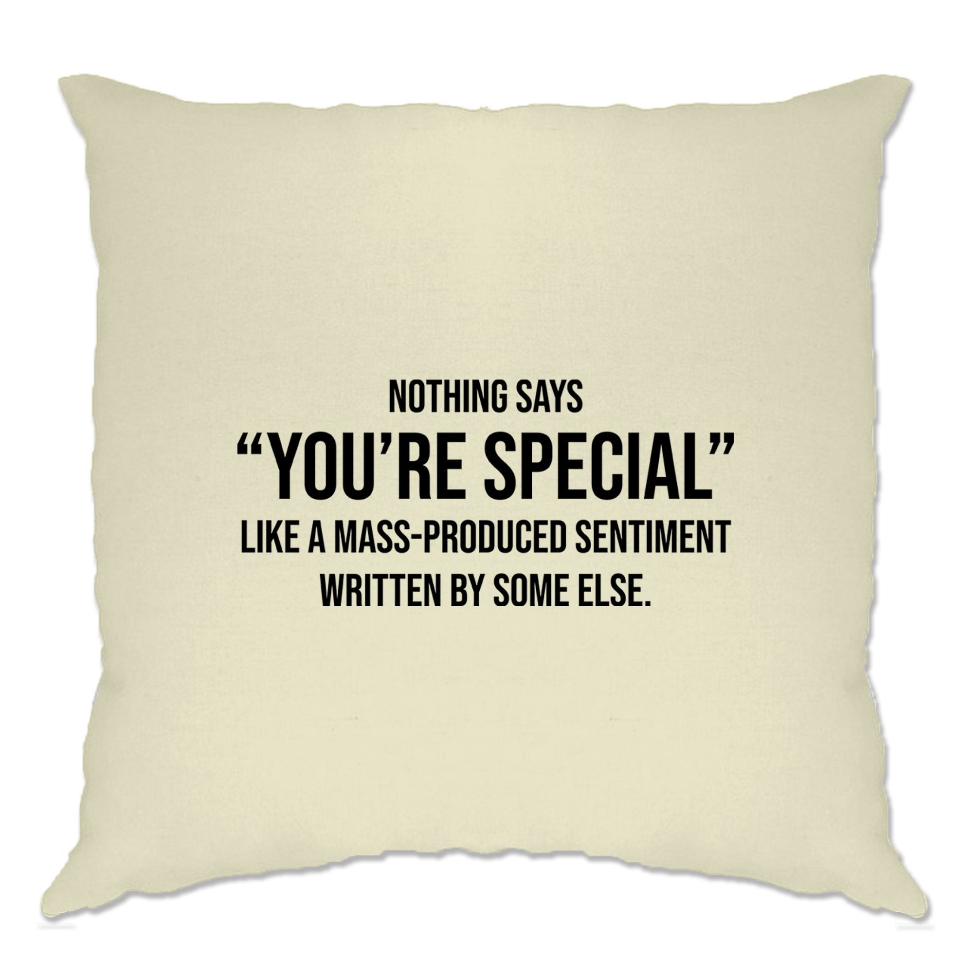 Valentines Day Cushion Cover You're Special Text