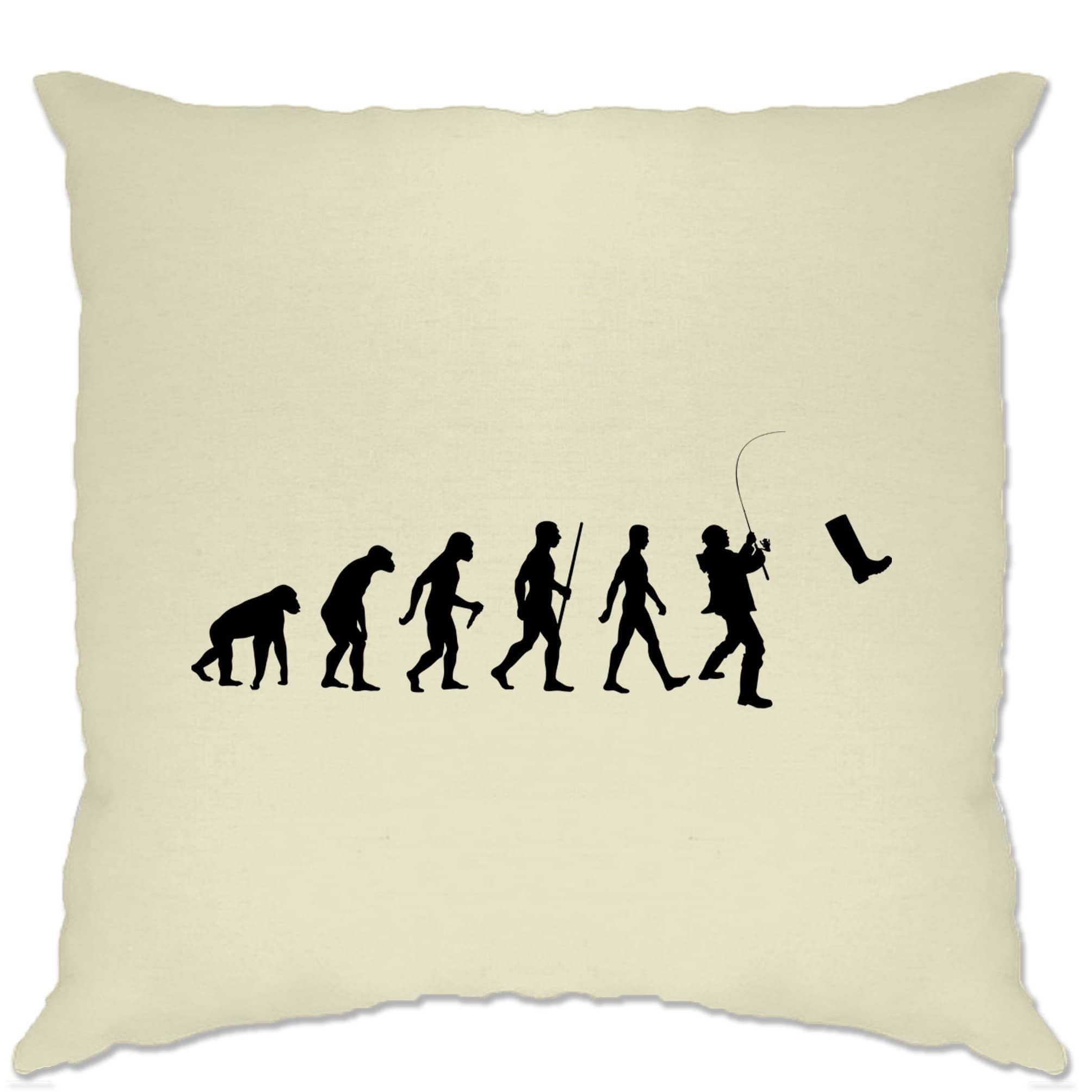 Fisherman Cushion Cover The Evolution Of Fishing Boot