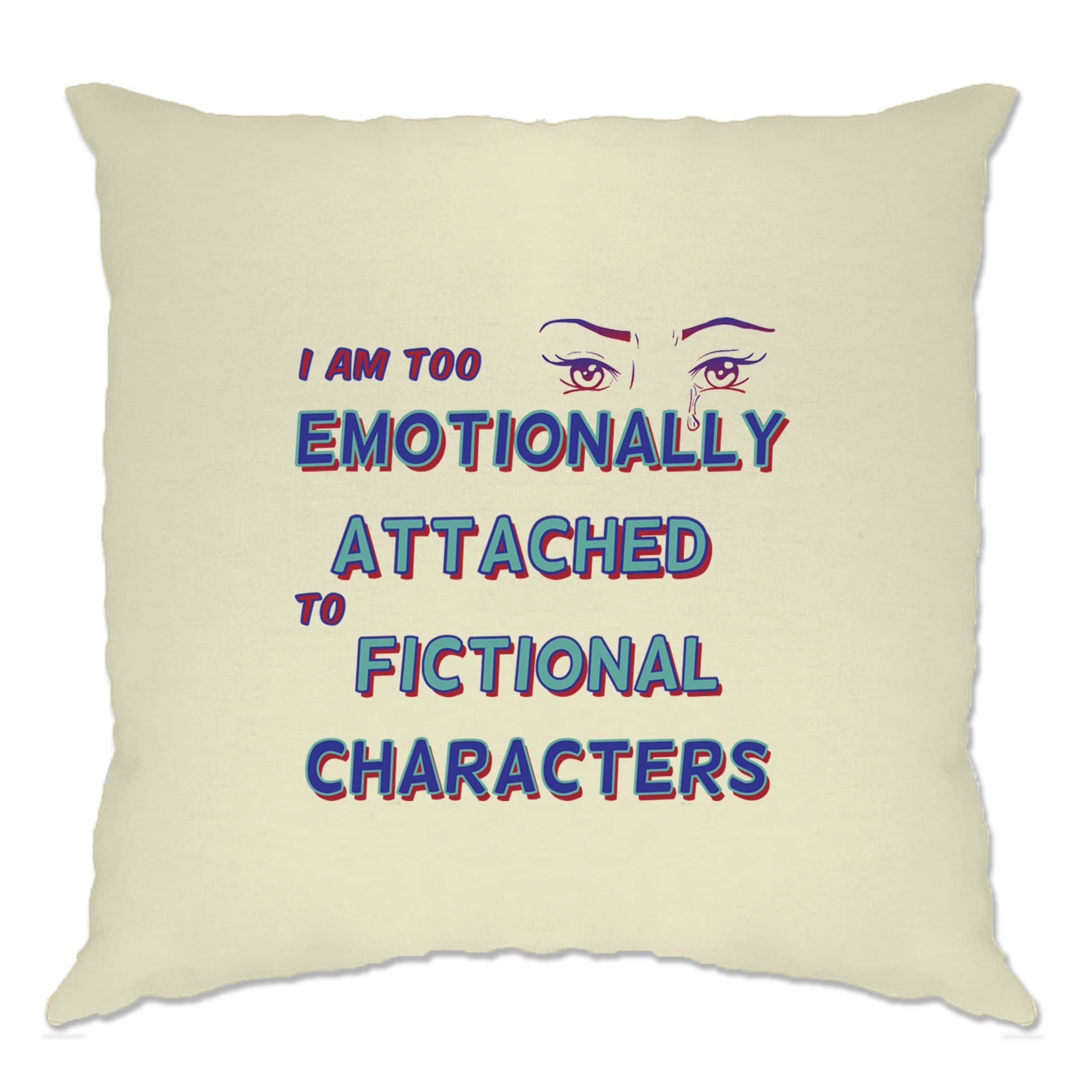 Novelty Cushion Cover Too Attached To Fictional Characters
