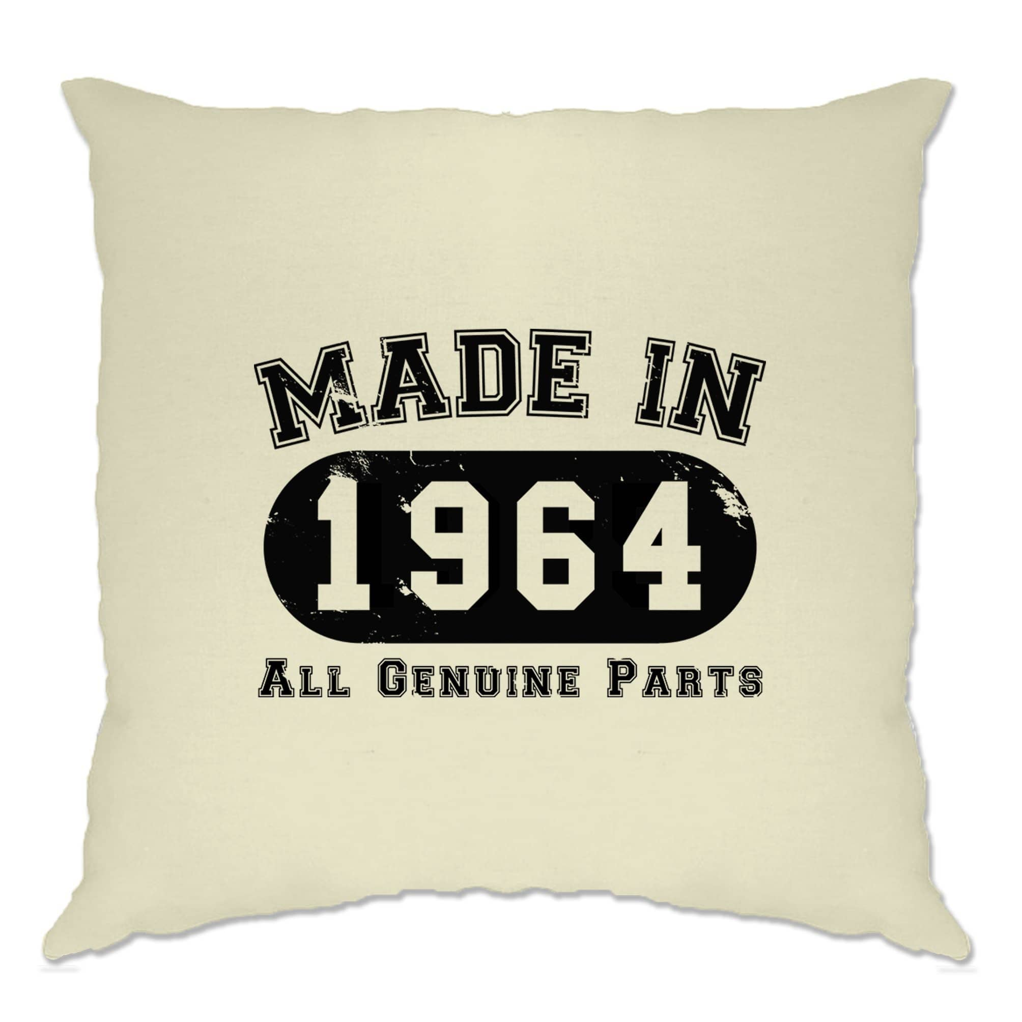 Birthday Cushion Cover Made in 1964 All Genuine Parts