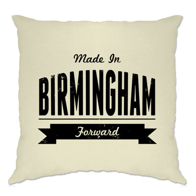 Hometown Pride Cushion Cover Made in Birmingham Banner