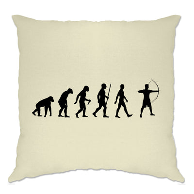 Novelty Cushion Cover The Evolution of Archery