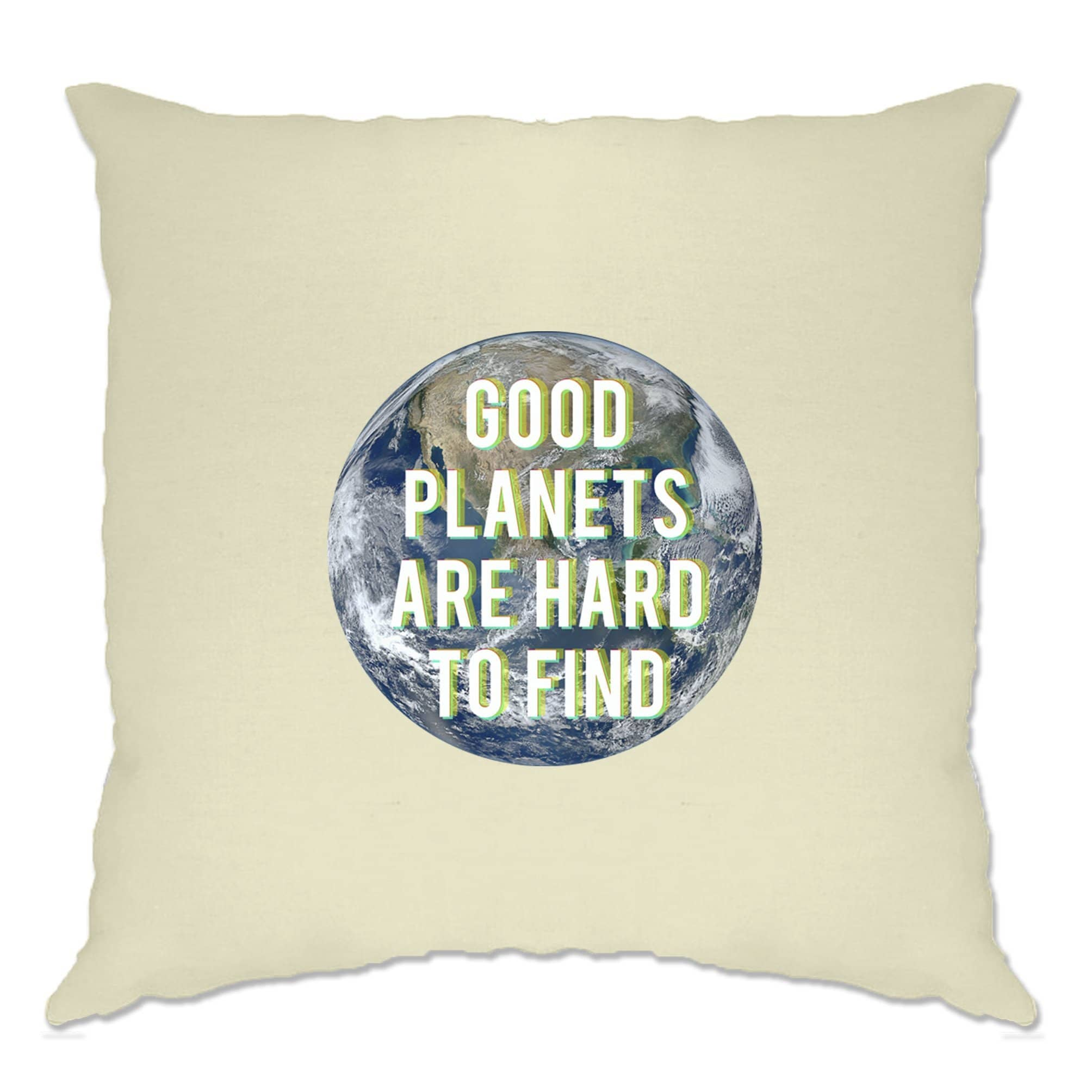 Eco Friendly Cushion Cover Good Planets Are Hard To Find