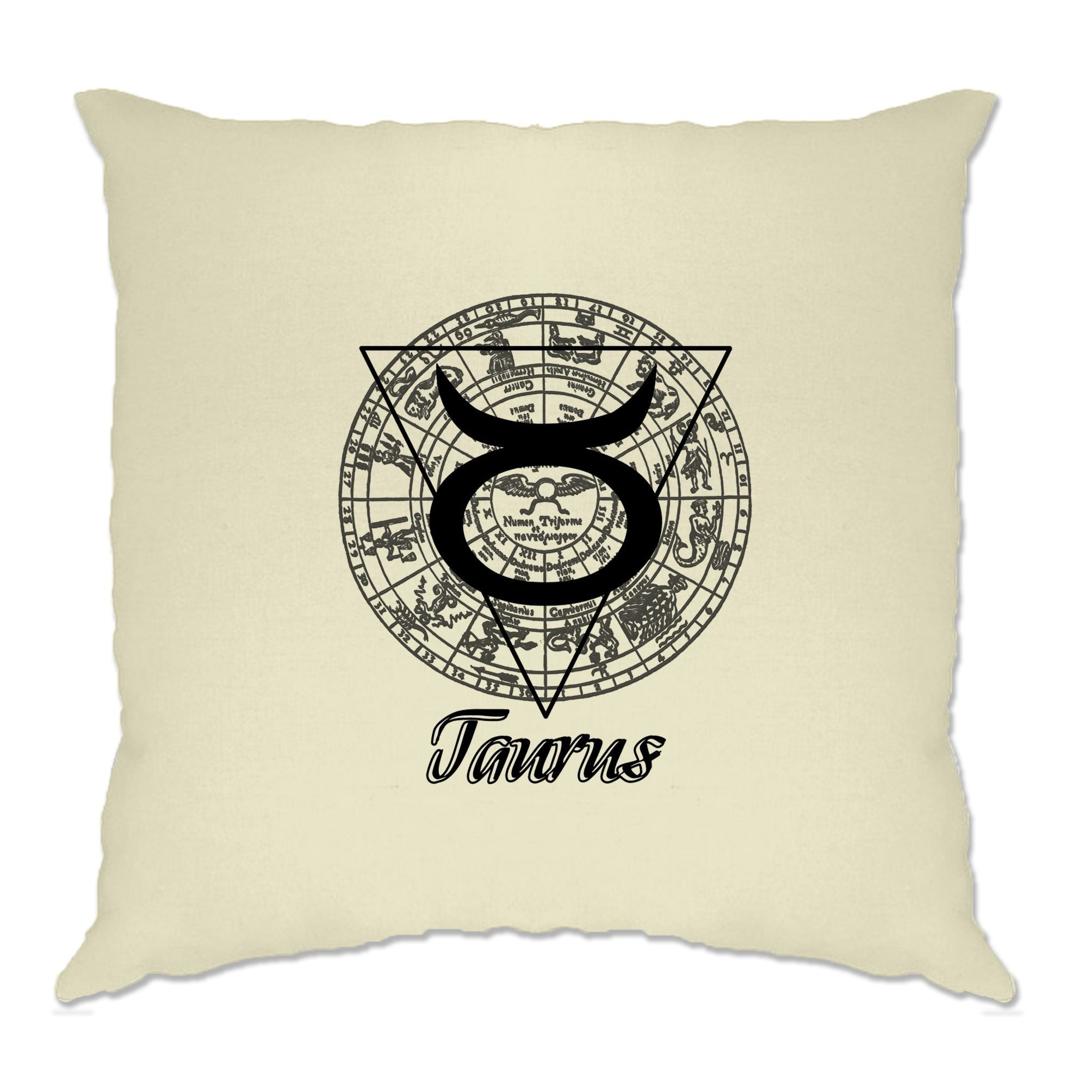 Horoscope Cushion Cover Taurus Zodiac Star Sign Birthday