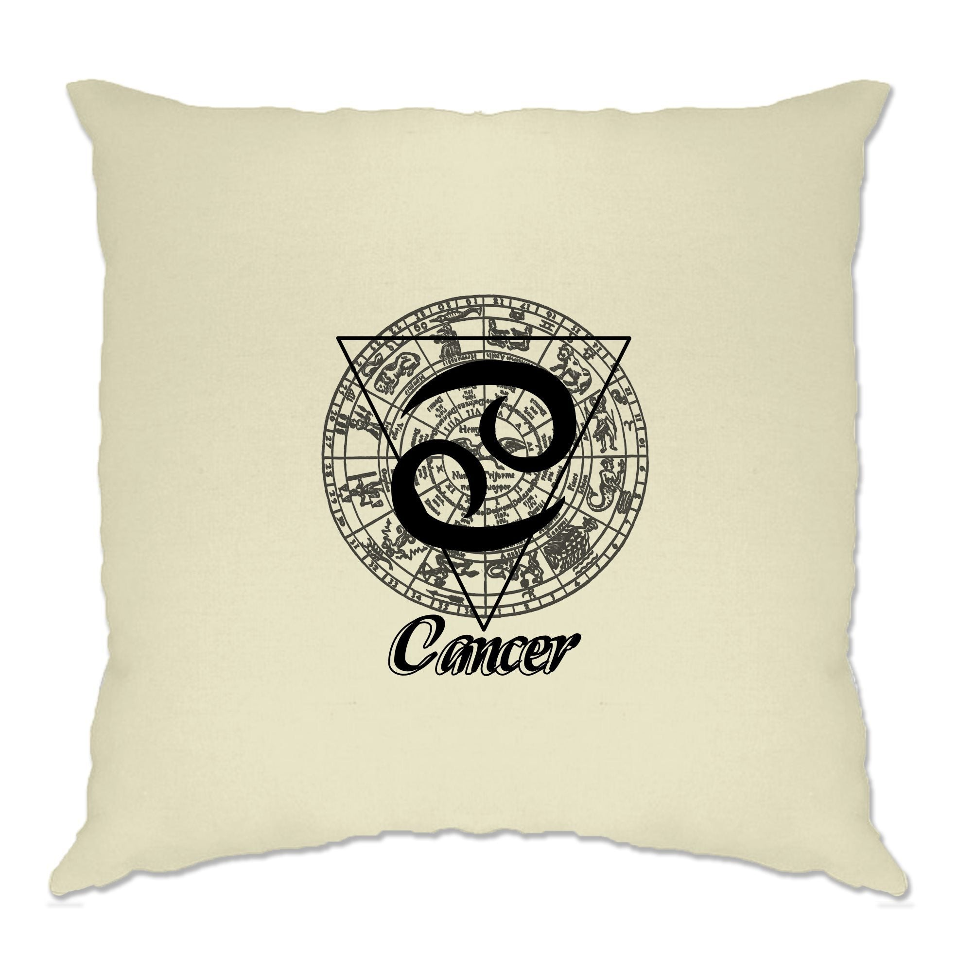 Horoscope Cushion Cover Cancer Zodiac Star Sign Birthday