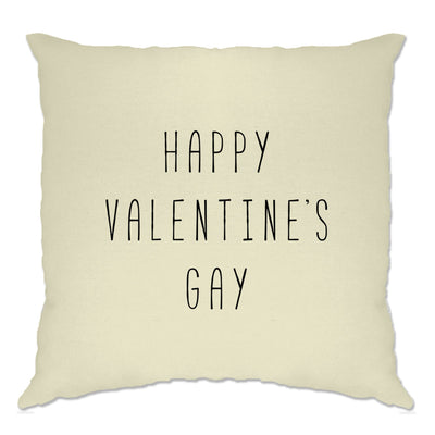 Relationship Cushion Cover Happy Valentine's Gay Pun