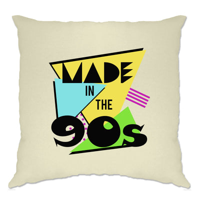 Retro Birthday Cushion Cover Made In The 90s