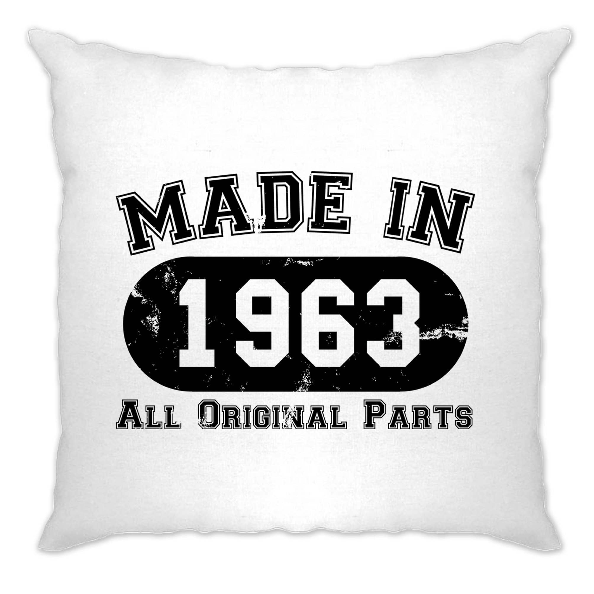 Made in 1963 All Original Parts Cushion Cover [Distressed]