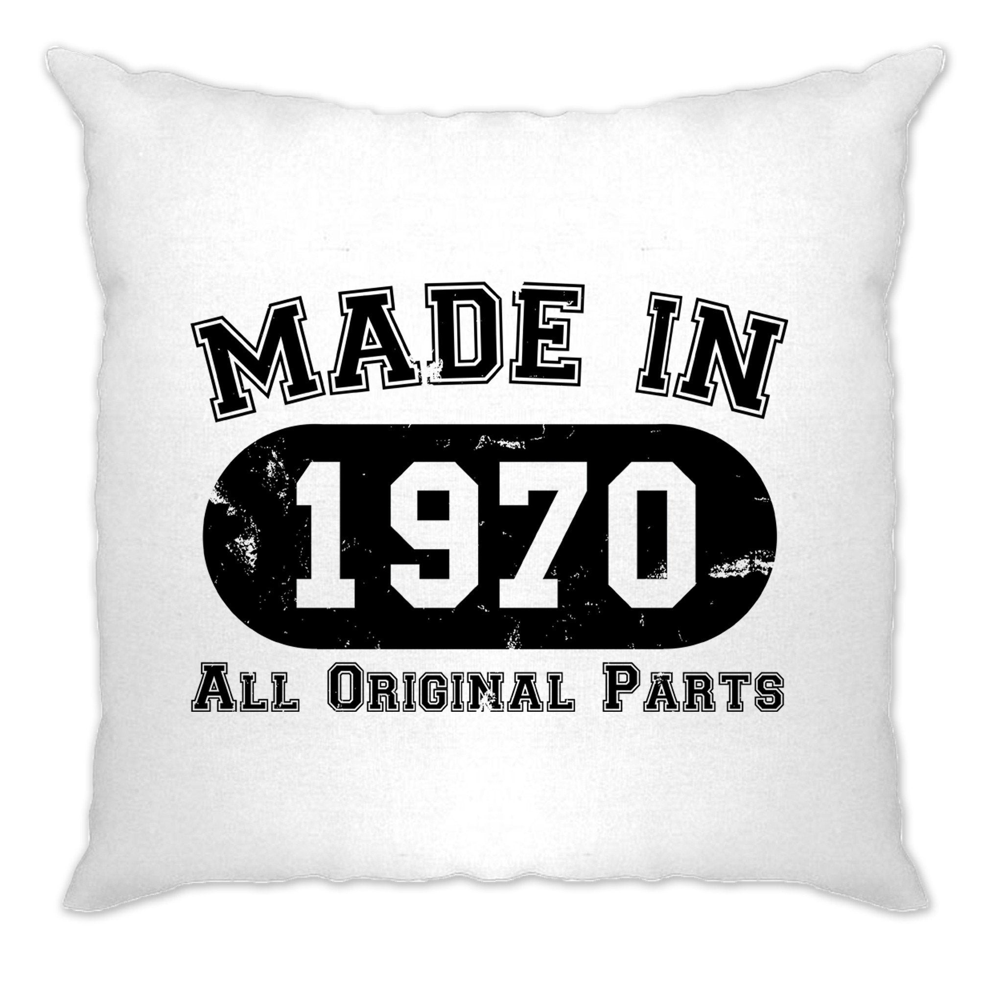 Made in 1970 All Original Parts Cushion Cover [Distressed]
